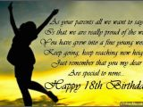 Happy 18 Birthday Daughter Quotes Happy 18th Birthday Quotes Quotesgram