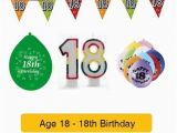 Happy 18th Birthday Balloon Banner Age 18 Happy 18th Birthday Party Balloons Banners