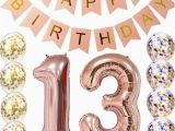 Happy 18th Birthday Balloon Banner Sweet 13th Birthday Decorations Party Supplies Balloons