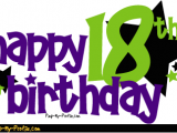 Happy 18th Birthday Banner Free Happy 18th Birthday Comments Graphics Pimp My