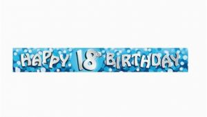 Happy 18th Birthday Banner Free Happy 18th Birthday Foil Banners 2 7 M Amscan 551785 1