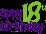 Happy 18th Birthday Banner Printable Happy 18th Birthday Comments Graphics Pimp My