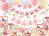Happy 18th Birthday Banner Rose Gold Amazon Com 60th Birthday Tiara and Sash Pink Happy 60th