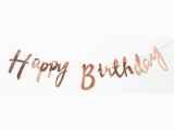 Happy 18th Birthday Banner Rose Gold Rose Gold Happy Birthday Bunting Banner 18th 21st 30th