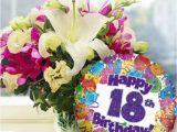 Happy 18th Birthday Flowers 18th Birthday Flowers and Balloon Available for Uk Wide