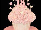 Happy 18th Birthday Flowers Happy 18th Birthday Elizabeth Cupcakes Flowers Pretty