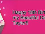Happy 18th Birthday My Daughter Quotes Happy 18th Birthday Daughter Quotes Quotesgram