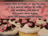 Happy 18th Birthday Quotes for Friends 18th Birthday Wishes for Daughter Happy 18 Birthday son