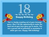 Happy 18th Birthday Quotes for Friends 18th Birthday Wishes Messages and Greetings Birthday