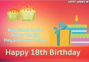 Happy 18th Birthday Quotes For Friends Wishes Messages And Images