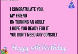 Happy 18th Birthday Quotes for Friends Happy 18th Birthday Wishes Quotes Messages and Images