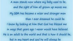 Happy 18th Birthday son Quotes Happy Birthday to My son In Heaven Quotes Quotesgram
