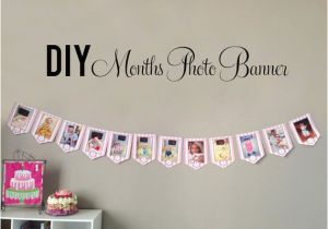 Happy 1st Birthday Banner Tesco Diy Photo Banner First Birthday Best Happy Birthday Wishes
