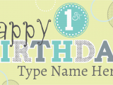 Happy 1st Birthday Banner Tesco Happy 1st Birthday Sign Template Www Signs Com First