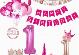 Happy 1st Birthday Banner Tesco Weigao First Birthday Banner Garlands One Year Old First