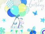 Happy 1st Birthday Boy Card My First wholesale Angel wholesale