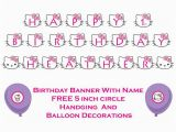 Happy 1st Birthday Hello Kitty Banner 301 Moved Permanently