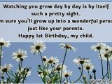 Happy 1st Birthday son Quotes From Mom Happy 1st Birthday Boy Quotes Quotesgram