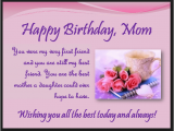 Happy 1st Birthday son Quotes From Mom Heart touching 107 Happy Birthday Mom Quotes From Daughter