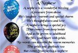 Happy 1st Birthday to My Nephew Quotes Personalised Coaster Nephew Poem Happy Birthday Free