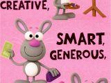 Happy 1st Birthday to My Niece Quotes Birthday Invitations Card 1st Birthday Card Cute Funny