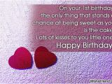 Happy 1st Birthday to My Niece Quotes Happy 1st Birthday Wishes to My Niece Quotes