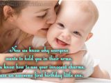 Happy 1st Birthday to My son Quotes 1st Birthday Quotes for Cards Quotesgram