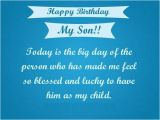 Happy 1st Birthday to My son Quotes Happy Birthday son Quotes Images Pictures Messages