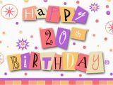 Happy 20th Birthday Cards Happy Birthday Msn Vanny 3848692 Meme4u Com forum