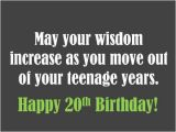 Happy 20th Birthday to Daughter Quotes Happy 20th Birthday Quotes Quotesgram