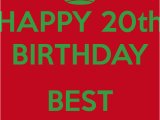 Happy 20th Birthday to Me Quotes 20th Birthday Quotes for Friends Quotesgram