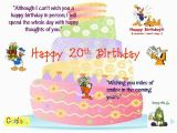 Happy 20th Birthday to Me Quotes Happy 20th Birthday son Quotes Quotesgram