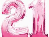 Happy 21st Birthday Balloon Banner Amazon Com 21st Birthday Decorations Party Kit Happy