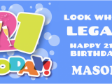 Happy 21st Birthday Banner Free Happy 21st Birthday for Boy Banner 2 39 X 4 39 Custom Signs