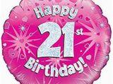 Happy 21st Birthday Banner Free Pink Age 21 Female Happy 21st Birthday Banner Confetti