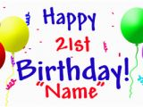 Happy 21st Birthday Banners 21st Birthday Accessories Party Supplies Personalized