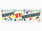 Happy 21st Birthday Banners Printable Free Happy 21st Birthday Pictures Free Download Free Clip