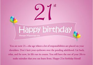 Happy 21st Birthday Girlfriend 21st Birthday Wishes Messages and Greetings