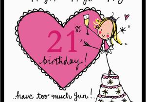 Happy 21st Birthday Girlfriend Happy Happy Happy 21st Birthday Juicy Lucy Designs
