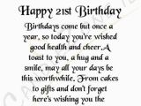Happy 21st Birthday Sister Quotes 21st Birthday Quotes for Friends Quotesgram