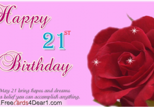Happy 21th Birthday Quotes Happy 21st Birthday Quotes Quotesgram