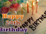 Happy 24th Birthday Cards 24th Birthday Wishes