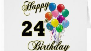 Happy 24th Birthday Cards Happy 24th Birthday New Calendar Template Site