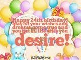 Happy 24th Birthday Cards Happy 24th Birthday Quotes Quotesgram