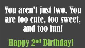 Happy 2nd Birthday Baby Boy Quotes Happy 2nd Birthday Baby Boy Quotes