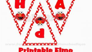 Happy 2nd Birthday Banner Girl Free Printable Elmo Birthday Banner Zoom Party Ideas