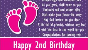 Happy 2nd Birthday Daughter Quotes Happy 2nd Birthday Baby Boy Quotes