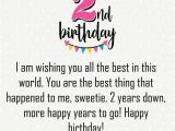 Happy 2nd Birthday Niece Quotes Happy 2nd Birthday Quotes Wishes Status Images and