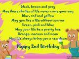 Happy 2nd Birthday Niece Quotes Second Birthday Poems Happy 2nd Birthday Poems