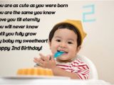 Happy 2nd Birthday to My son Quotes Best Happy 2nd Birthday Quotes In 2018